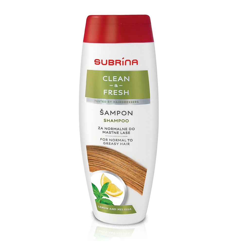 Subrina sampon clean and fresh