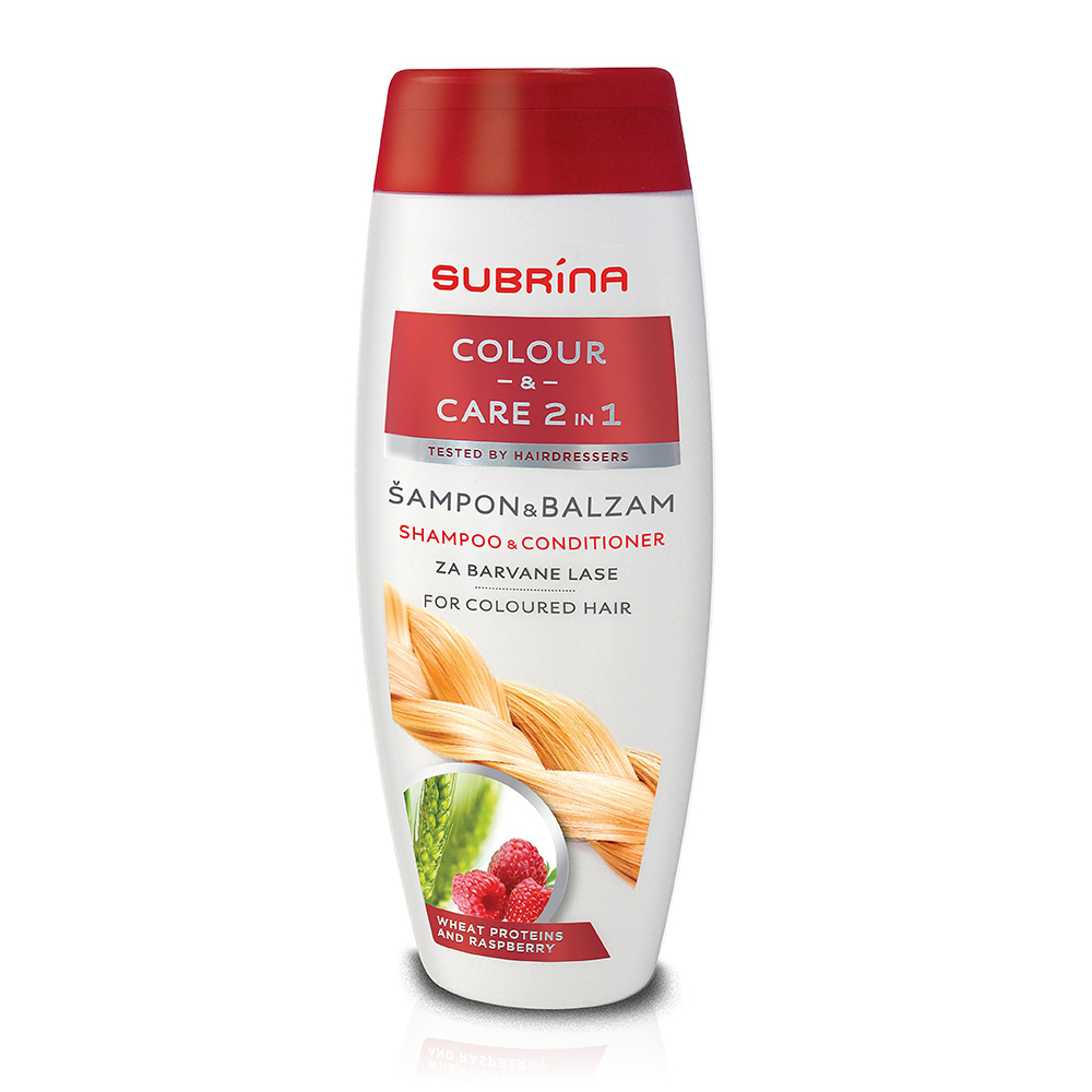 Subrina sampon colour and care 2in1