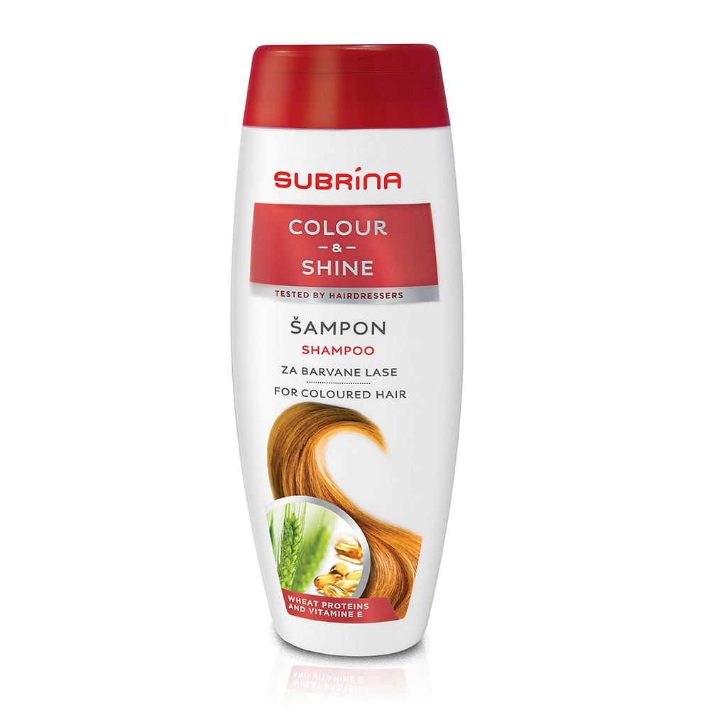 Šampon za barvane lase COLOUR & SHINE