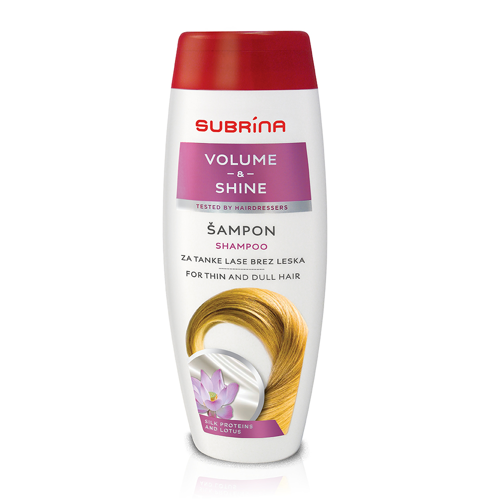 Subrina sampon volume and shine
